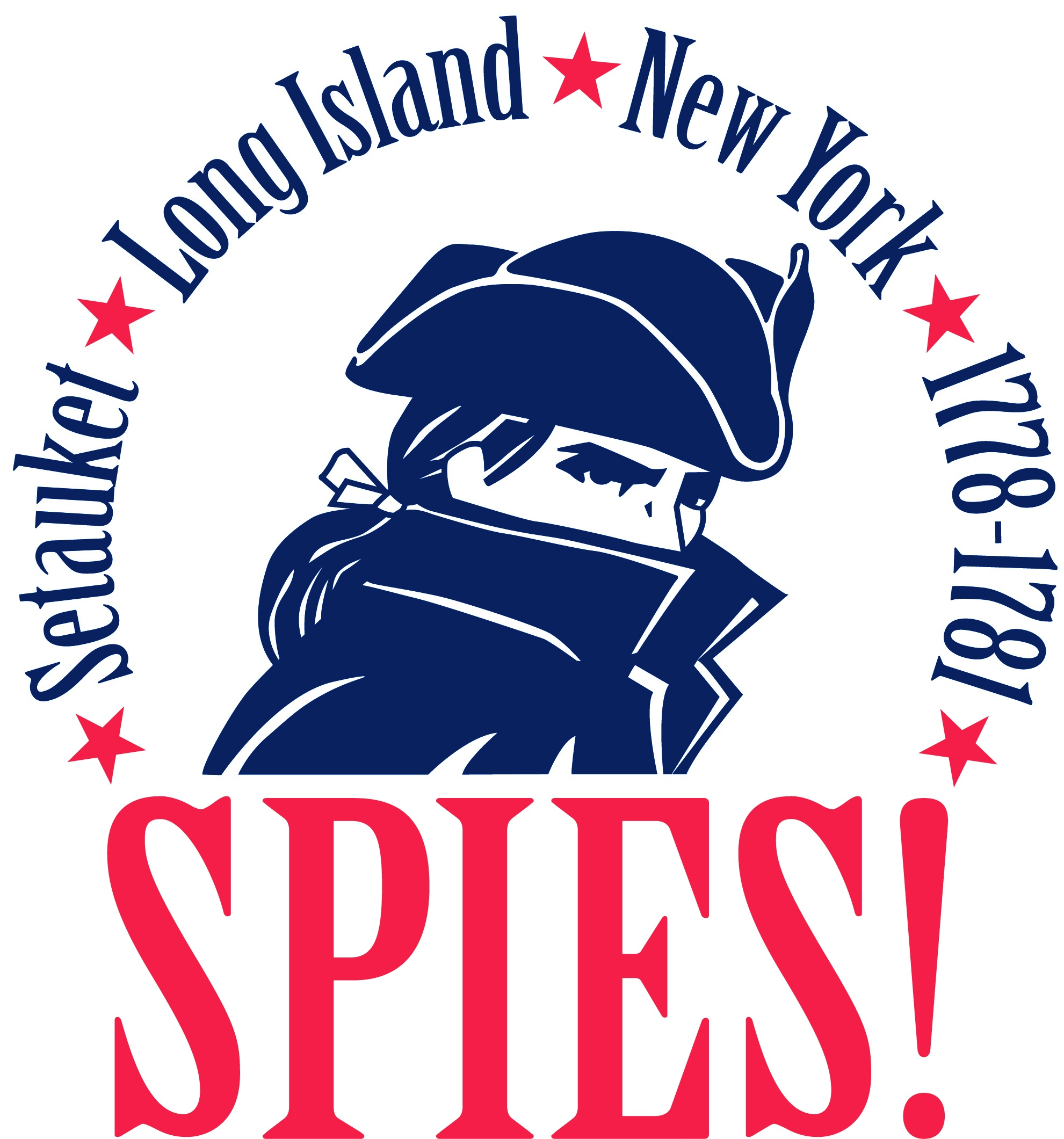 SPIES! Exhibit Logo of the Three Village Historical Society