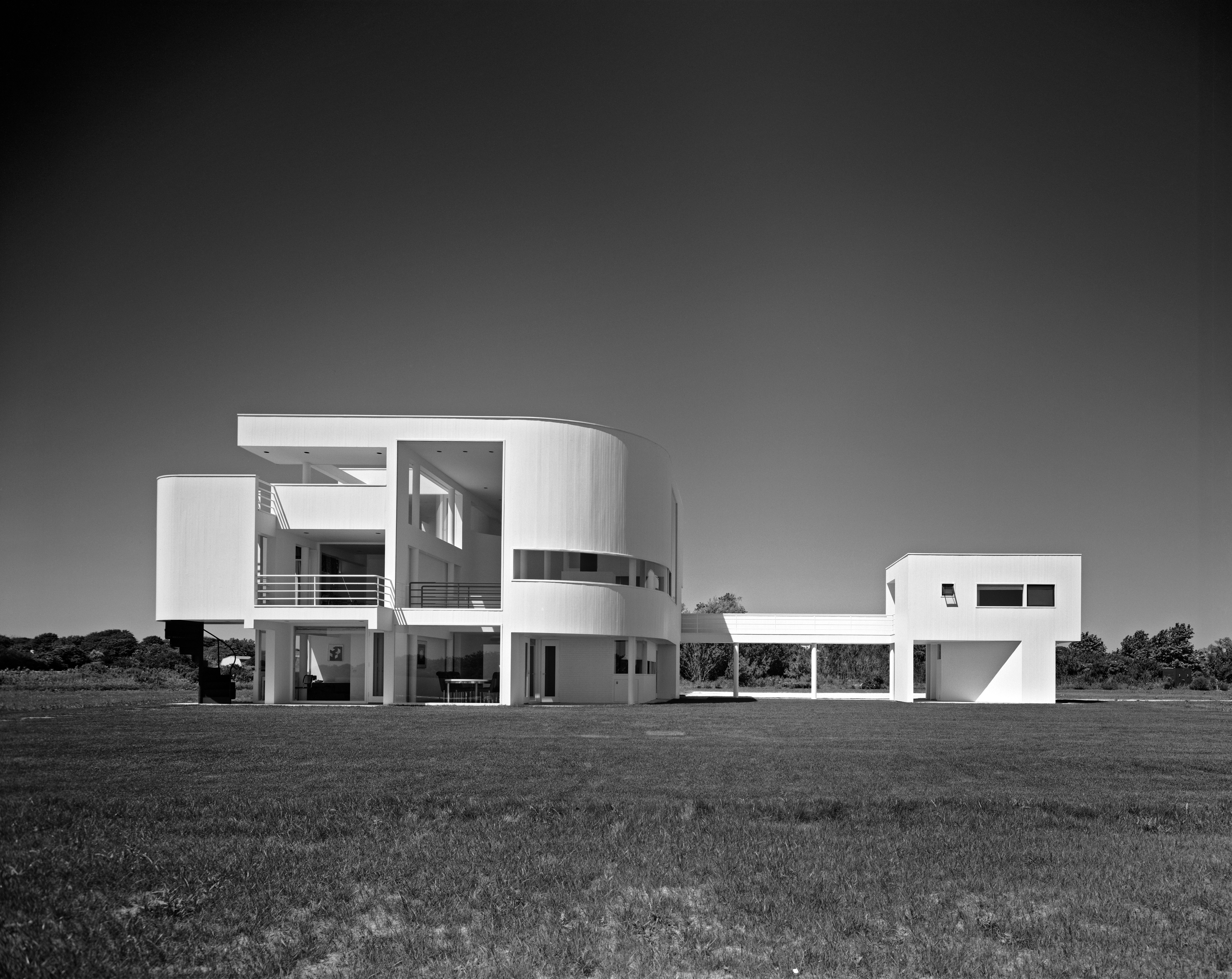 Saltzman house, East Hampton. Courtesy Ezra Stoller ©Esto.