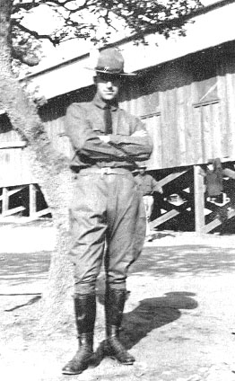 William Cosmo Marzano at Camp Upton 1917