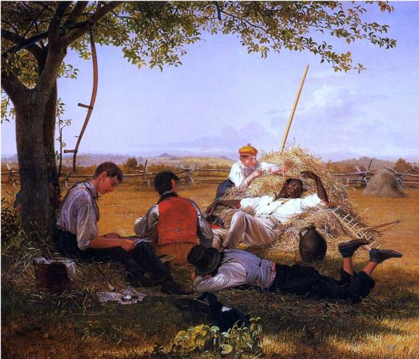 William Sidney Mount, <i>Farmers Nooning</i>, 1836. The Long Island Museum.